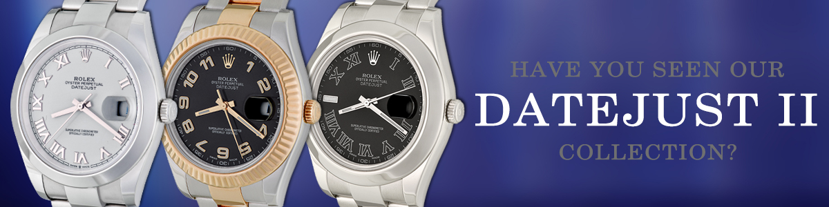 Datejust ii collection 2021