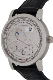 A. Lange & Sohne Lange 1 Time Zone inventory number C42518 mobile image