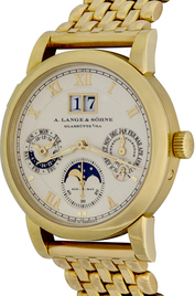 A. Lange & Sohne Langematik Perpetual inventory number C46906 image