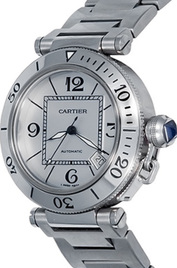 Cartier Pasha Seatimer inventory number C40249 mobile image