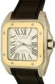 Cartier Santos 100 inventory number C33082 image