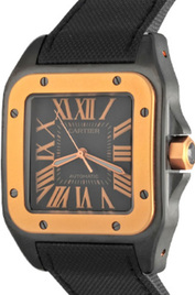 Cartier Santos 100 inventory number C38556 image
