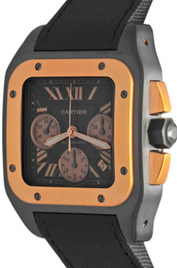 Cartier Santos 100 inventory number C38558 image