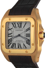 Cartier Santos 100 inventory number C38600 image
