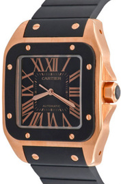 Cartier Santos 100 inventory number C41341 image