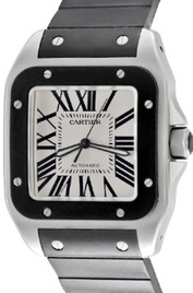 Cartier Santos 100 inventory number C43730 image