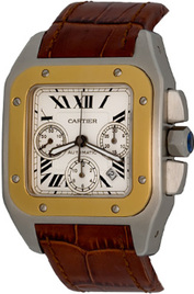 Cartier Santos 100 inventory number C44133 image