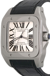 Cartier Santos 100 inventory number C47449 image