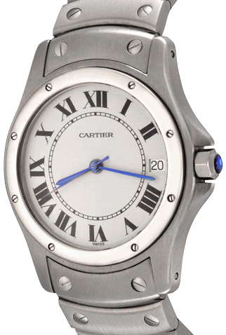 Product cartier santos main c38346