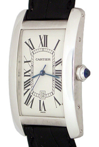 Product cartier tank americaine mens watch main c47250