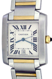 Cartier Tank Francaise inventory number C14348 image