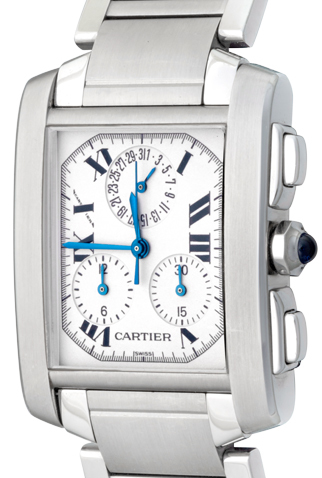 Product cartier tank francaise main c49331