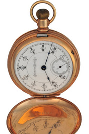 Columbus Watch Co. Railway King inventory number P38576 image