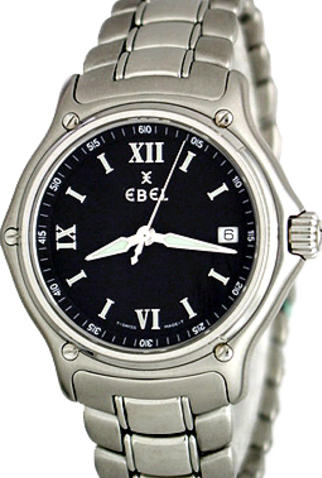 Product ebel 1911 quartz mens watch main c15312