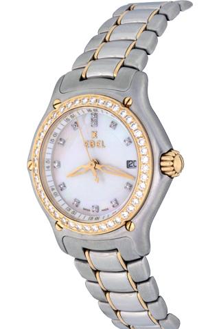 Product ebel 1911 quartz diamond ladies watch main c46454