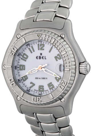 Product ebel discovery mens quartz watch main c17278