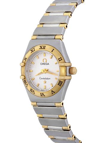 Product omega constellation ladies quartz main c45498