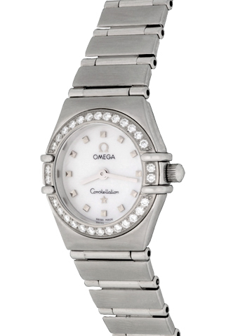 Product omega constellation diamond ladies watch main c46949