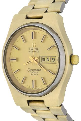 Product omega seamaster cosmic 2000 mens watch main c46392