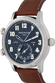 Patek Philippe Calatrava Pilot Travel Time  inventory number C50078 image