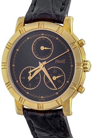 Product piaget midsize quartz yellow gold midsize watch main c44893