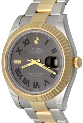 Product rolex datejust 116333 mens watch dial c47933 new