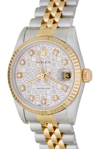 Product rolex datejust 68273 main c50605