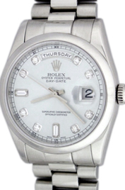 Rolex President Day-Date inventory number C17852 mobile image