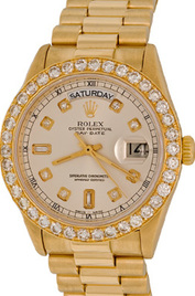 Rolex President Day-Date inventory number C18577 mobile image