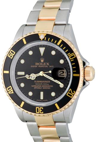 Product rolex submariner 16613 main c50516