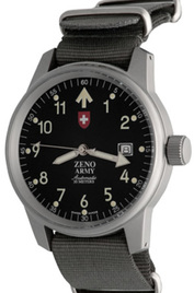 Zeno-Watch Basel Army Pilot Date inventory number C40802 mobile image