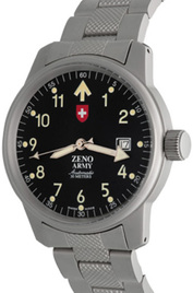 Zeno-Watch Basel Army Pilot Date inventory number C45295 image