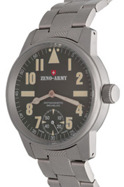 Zeno-Watch Basel Army Pilot Manual Wind inventory number C40807 mobile image