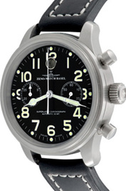 Zeno-Watch Basel New Pilot Classic Bi-Compax Horizontal inventory number C41298 mobile image