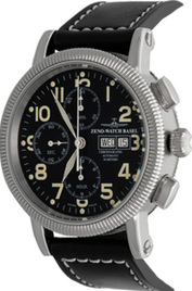 Zeno-Watch Basel Nostalgia 1868 Chronograph Tri-Compax Day-Date inventory number C40788 mobile image