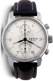 Zeno-Watch Basel Pilot Classic Bi-Compax Chronograph inventory number C49624 image