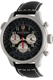 Zeno-Watch Basel Pilot Oversized Slide Rule Chronograph inventory number C44398 mobile image