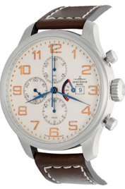 Zeno-Watch Basel Pilot Oversized Tri-Compax Classic Power Reserve inventory number C50410 image