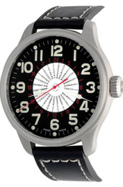 Zeno-Watch Basel Pilot Oversized World Time inventory number C40800 mobile image